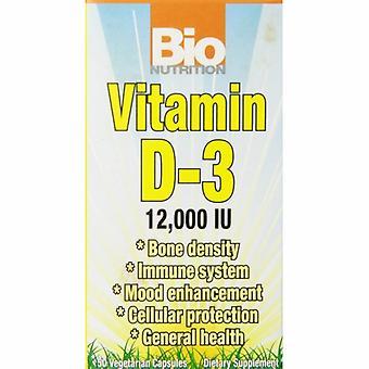 Bio Nutrition Inc Vitamin D-3, 12000IU 50 VEG CAPS