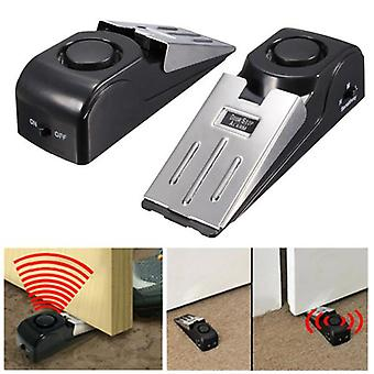 Door Stop Block Systerm Security Portable Burglar Sensors Alarm 125DB