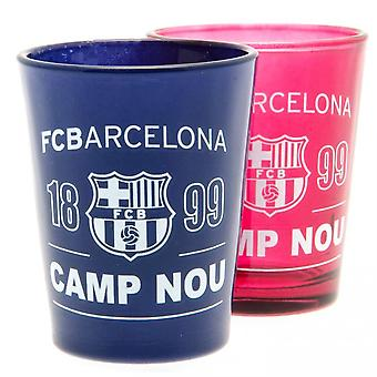 FC Barcelona Shot Glass Set (Pakkaus 2)