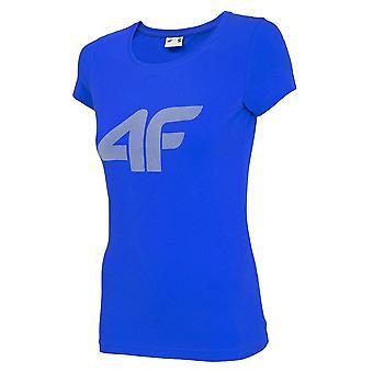 4F TSD005 NOSH4TSD005KOBALT universel sommer kvinder t-shirt