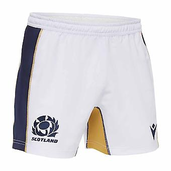2020-2021 Scotland Home Rugby Shorts (White)