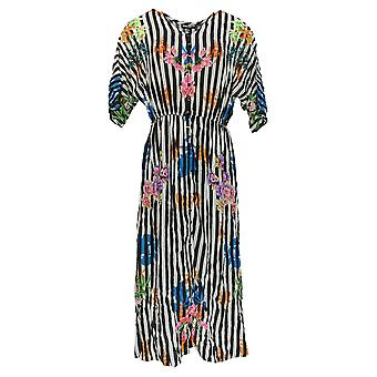 Tolani Petite Dress Collection Printed Lined Woven Maxi Dress Black A347420