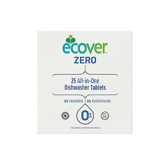 Ecover All In 1 Zero Geschirrspüler Tabletten x 25 4004305