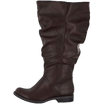 من السهل شارع المرأة & ق الأحذية الذروة بالإضافة إلى الجلد اللوز توب الركبة عالية الموضة...