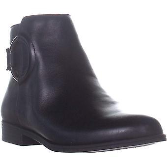 Alfani Kadın Avvia Deri Kapalı Ayak Bileği Moda Boots