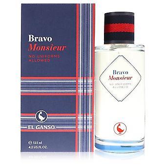 Bravo Monsieur Eau De Toilette Spray By El Ganso 4.2 oz Eau De Toilette Spray
