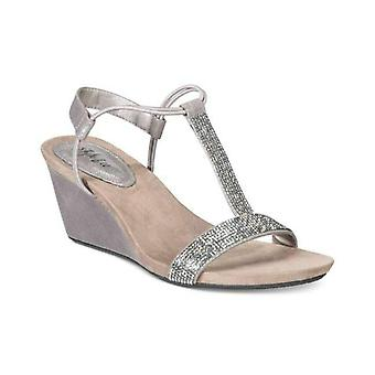 Style & Co. Womens Mulan2 Open Toe Special Occasion Wedged Sandals