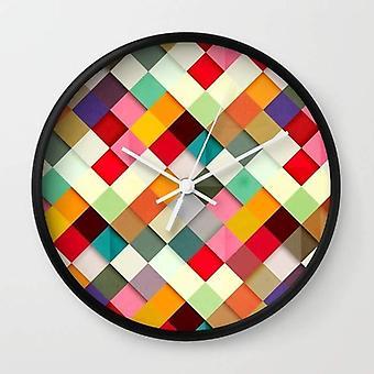 High-impact Plexiglas Crystal Face - Wall Clock