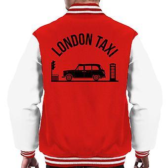 London Taxi Company TX4 Vid trafikljus Män's Varsity Jacket