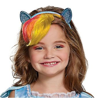 Rainbow Dash Headpiece with Hair - Lapsi - My Little Pony