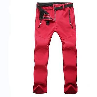 Winter Woman-men Outdoor Camping & Hiking Pants, Soft Waterproof Skiing
