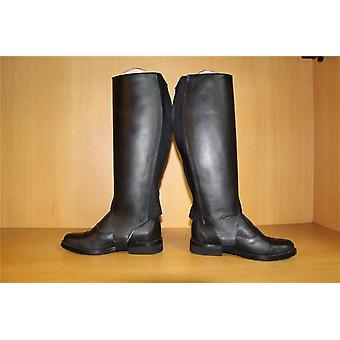 Half Chaps Horse Riding, Cow Leather Equestrian Equipment Genuine Halter Boots