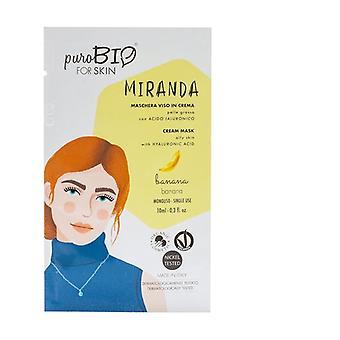 Miranda Cream ansiktsmask - banan fet hud - 05 10 ml grädde (Banan)