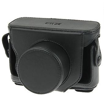 كامل الجسم كاميرا PU حقيبة جلدية مع حزام ل FUJIFILM X10 / X20 (أسود)