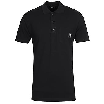 Diesel T-Worky Black Polo Shirt