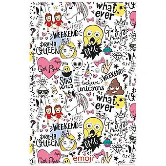 Emoji Poster Millennials 87