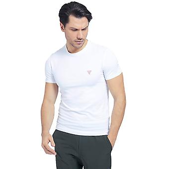Guess S/S Super Slim T-shirt - Wit