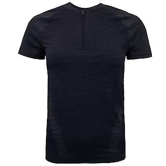 תחת שריון נשים חצי רוכסן חלקה חולצת טריקו אימון העליון 1348738 001