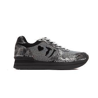 Trussardi Jeans ALFIIO Metal Silver Sneakers