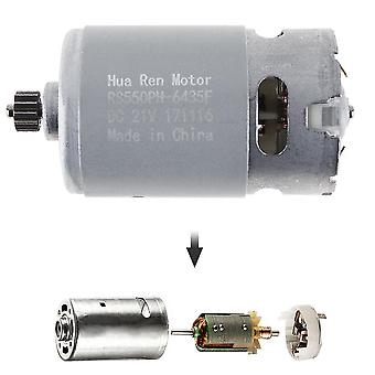 Rs550 12v/16.8v/21v/25v 19500 Rpm Dc Motor With Two-speed 12 Teeth And High