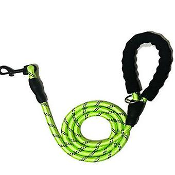 Pet Reflective Traction Rope Round Rope Nylon Dog Rope Set
