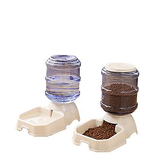 Pet Food Feeder And Water Dispensers