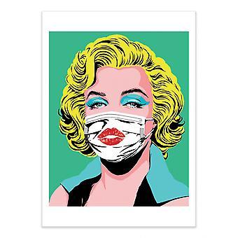 Art-Poster - Masked Bombshell - Butcher Billy