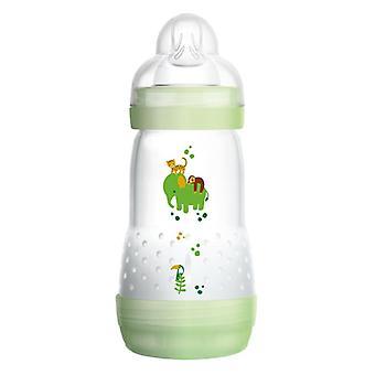 Mam lättstart anti-kolik flaska 260ml grön