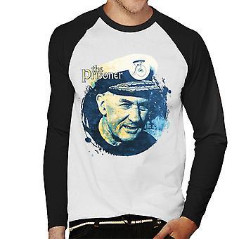 The Prisoner Arrival Ex Admiral Men's Baseball Long Sleeved T-Shirt
