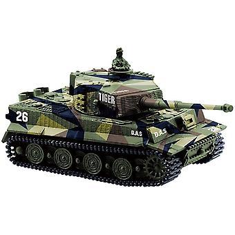 Mini Tiger Battle Kauko-radio-ohjaus Panzer Panssaroitu säiliö
