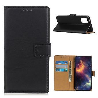 Samsung Galaxy A02s Brieftasche Fall - Schwarz