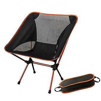 Beach Chair / Camping Ultralight Folding Chair Fabric Max 150kg Modern Moon