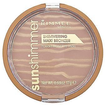 Rimmel London Sunshimmer Shimmering Maxi Bronzer Podwer