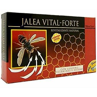 Mont Star Vital Ginseng Royal Jelly Forte 20 Ampules