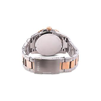 Fossil FB-01 Two-Tone Stainless Steel Mens Watch FS5743