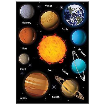 Science Die-Cut Magnets, Sistema Solare