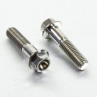 Pro perno titanio clip-on manillar barra pellizcar juego de perno (2 paquetes) TICLIPBAR80