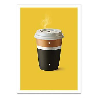 Art-Poster - Coffee Battery - Artem Pozdnyakov