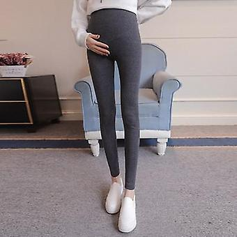 Maternity Leggings Soft Slim Adjustable Waist Pregnant Women Pants Clothes High