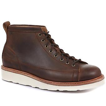 Jones Bootmaker Mens Amersham Wide Fit Suede Ankle Boots