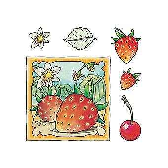 Jeje Marij Rahder Clear Stamps Strawberry
