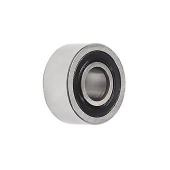 NSK 3306B-2RSTNC3 kaksinkertainen rivi kulmikas kontakti kuulalaakeri 30x72x30.2mm