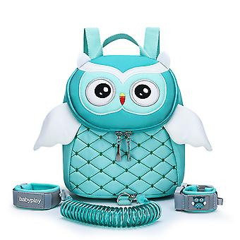 Homemiyn Backpack Leash, Oversized Toddler Owl Bag-anti Lost Wrist Link For Toddlers