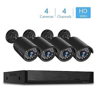 4チャンネルスーパーHD DVRホームセキュリティビデオシステム
