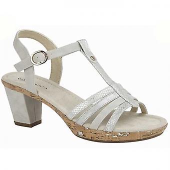 Cipriata Adona Damer Klack Sandaler Silver