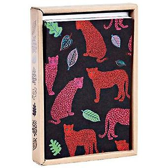Luxe Leopards Luxe Foil Notecards