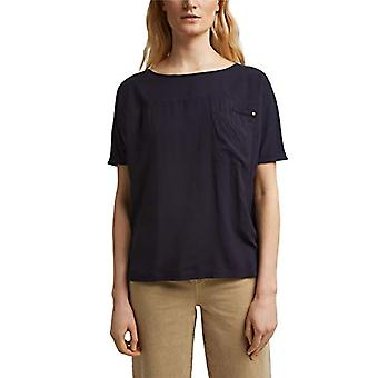 ESPRIT 031EE1K321 T-Shirt, 400/Navy, XXL Women