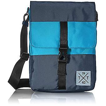 Tom Tailor Stuart, Men's Fin Bag, Mixed Blue, Medium