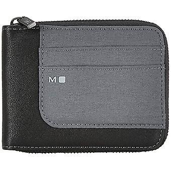 Moleskine ID Collection Wallet met rits 4 interne en 4 externe compartimenten voor creditcards, 1 zak voor bankbiljetten, 2 ref. 8058647624624