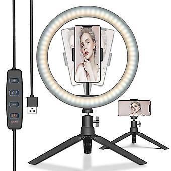 DZK Selfie Ring Light Lampa telefoniczna Pulpit Selfie Lights